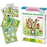 """Обучающие карточки Маленький гений """"Удивительные приключения в лесу"""""""