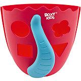 Органайзер для игрушек в ванную Roxy-Kids Dino, коралловый