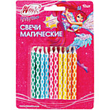 """Свечи для торта Веселая затея """"Магические"""", 10 шт 6 см"""