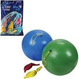 """Воздушные шары 16 Веселая затея """"Панч-болл"""" 25 шт, 41 см (8 рисунков, 12 цветов пастель)"""