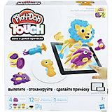 Набор для лепки Hasbro Play-Doh Touch - Лепи и делай прически