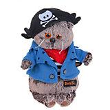 Мягкая игрушка Budi Basa Кот Басик-пират, 22 см