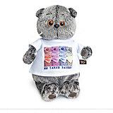 Мягкая игрушка Budi Basa Кот Басик в футболке с принтом Мы такие разные, 25 см