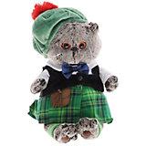 Мягкая игрушка Budi Basa Кот Басик в шотландском костюме, 30 см