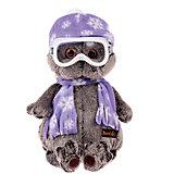 Мягкая игрушка Budi Basa Кот Басик-лыжник, 30 см