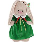 Мягкая игрушка Budi Basa Зайка Ми в рождественском платье, 32 см