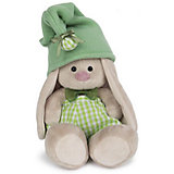 Мягкая игрушка Budi Basa Зайка Ми гномик в зеленом, 18 см