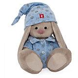 Мягкая игрушка Budi Basa Зайка Ми в голубой пижаме, 32 см