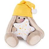 Мягкая игрушка Budi Basa Зайка Ми в колпачке и со звездочкой, 15 см