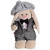 Мягкая игрушка Budi Basa Зайка Ми-мальчик Оксфорд, 25 см