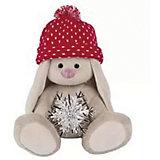 Мягкая игрушка Budi Basa Зайка Ми со снежинкой, 32 см
