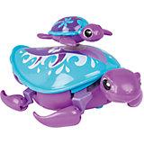 Интерактивная игрушка Moose Little Live Pets Черепашка с малышом, фиолетовая
