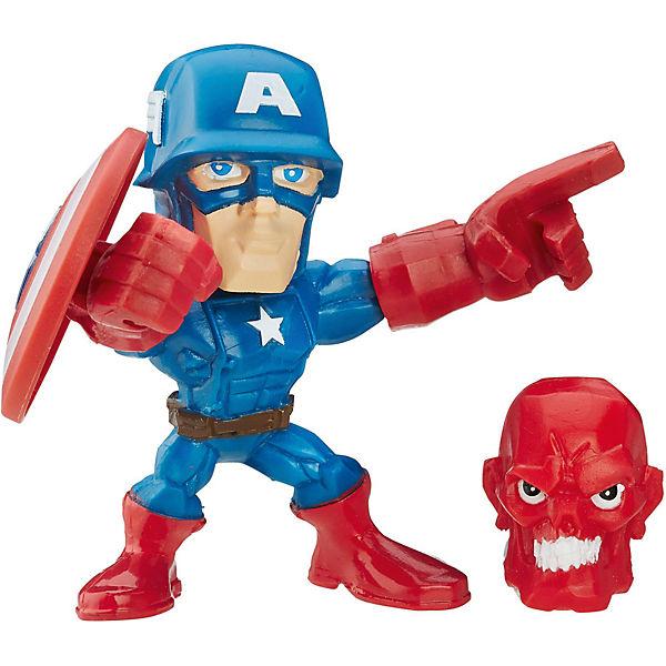 "Микро-фигурка Hasbro Marvel ""Super Hero Mashers"", Капитан Америка 5 см"