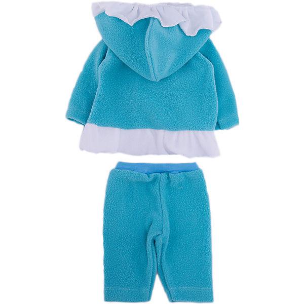 """Одежда для куклы Карапуз """"Пальто с капюшоном, брюки"""", 40-42 см"""