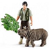 Егерь и Индийский носорг, стартовый набор