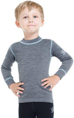 Футболка с длинным рукавом Norveg для мальчика - серый