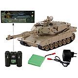 """Радиоуправляемая игрушка Yako Toys """"Боевой танк М1А2 Абрамс, 1:24 (в ассортименте)"""