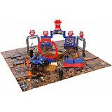 """Игровой набор Yako Toys """"Стадион. Битва машин"""", 40 деталей + 1 машинка"""