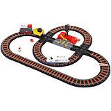 """Железная дорога Yako Toys """"Останови крушение!"""", 2 перекрестка, механизм остановки, семафор"""