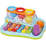 """Музыкальная игрушка Huile Toys """"Ксилофон с молоточком и шарами"""""""