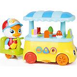 "Интерактивная игрушка Huile Toys ""Машинка. Лоток мороженщика"""