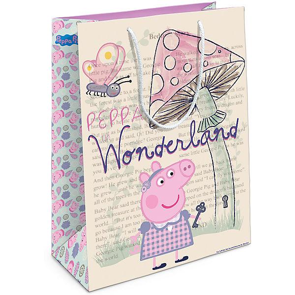 """Подарочный пакет Росмэн """"Peppa Pig. Страна чудес Пеппы"""""""