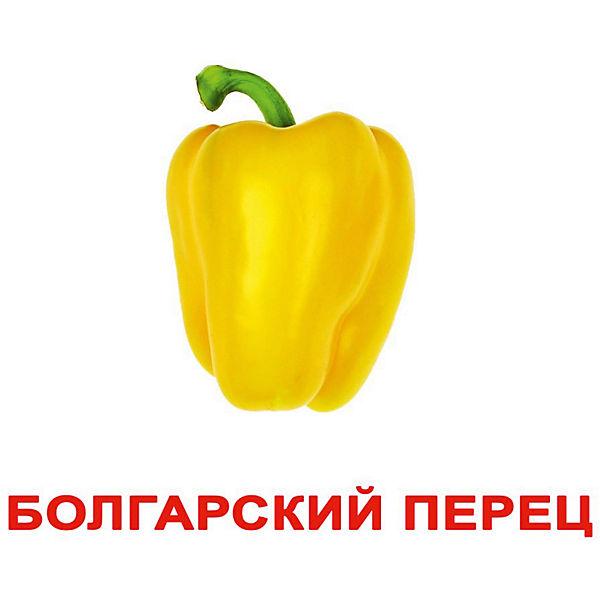 """Набор обучающих карточек Вундеркинд с пелёнок """"Овощи"""" 20 штук"""