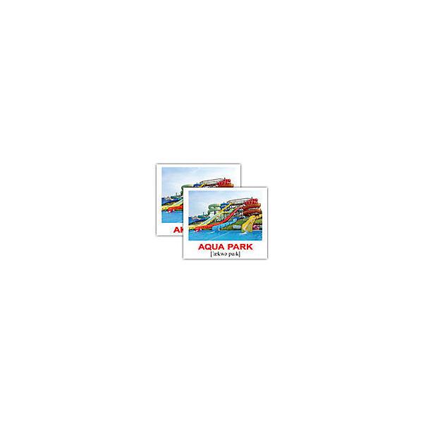 """Набор обучающих мини-карточек Вундеркинд с пелёнок """"City/Город"""", двухсторонний 40 штук"""