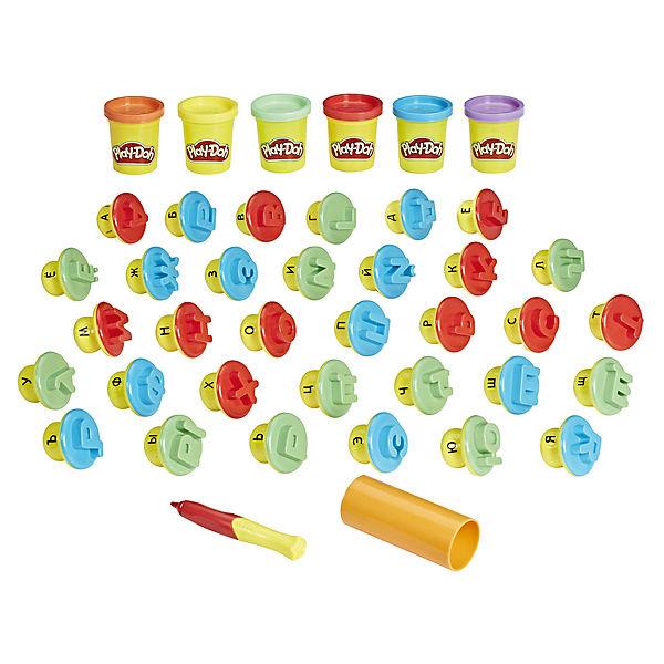 "Набор пластилина Hasbro Play-Doh ""Буквы и языки"""