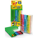 Парные фломастеры Crayola Dynamic Duos Super Tips Markers, 20 штук