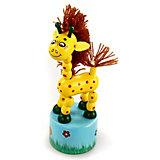 Танцующий жираф с гривой