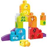 """Конструктор Mattel MEGA BLOKS """"First Builders"""" Изучаем цвета, 21 деталь"""
