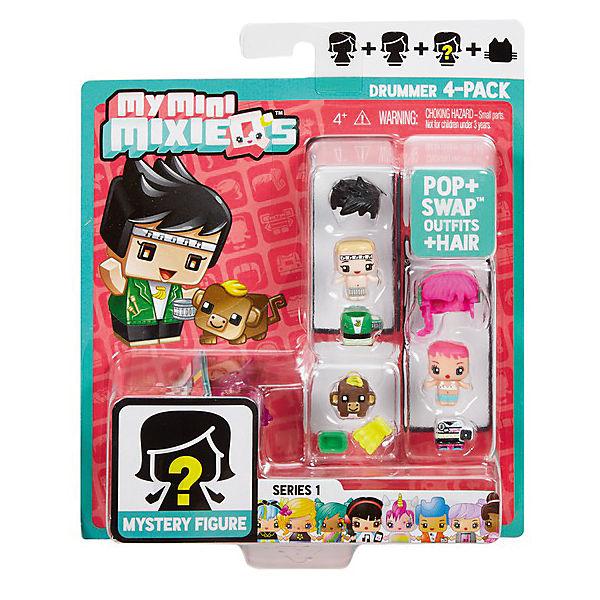 "Набор из 3-х фигурок Mattel ""My Mini MixieQ's"", С коричневой коровкой"