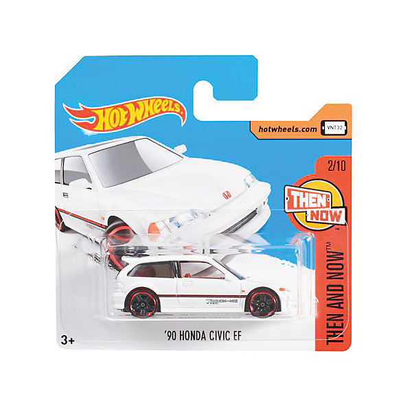 Базовая машинка Mattel Hot Wheels, 90 Honda Civic EF