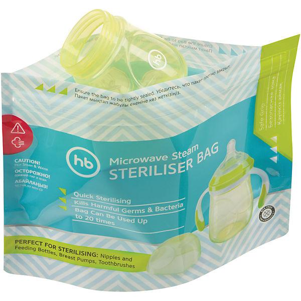 Пакеты для стерилизации в микроволновой печи, Happy Baby