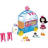 """Игровой набор Enchantimals """"Фургончик мороженого Прины Пингвины"""""""