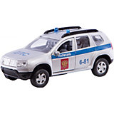 Коллекционная машинка Autotime Renault Duster ДПС, 1:38