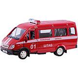 Коллекционная машинка Autotime Газель Пожарная охрана, 1:43