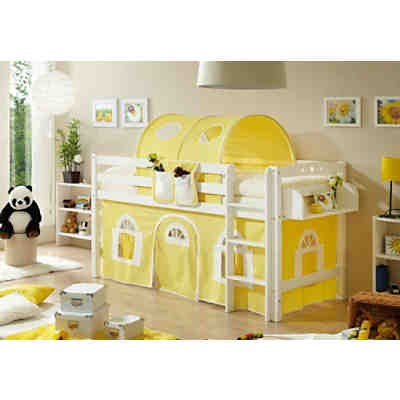 kinderhochbett hochbetten f r kinder g nstig online. Black Bedroom Furniture Sets. Home Design Ideas