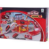 "Парковка Shantou Gepai ""Пожарная служба"" 2 уровня + 1 машина"