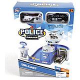 """Гараж Shantou Gepai """"Гараж полиции"""" + машина и вертолет"""