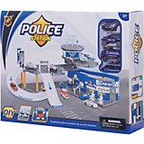 """Парковка Shantou Gepai """"Полиция"""" 2 уровня + 3 машины и вертолет"""