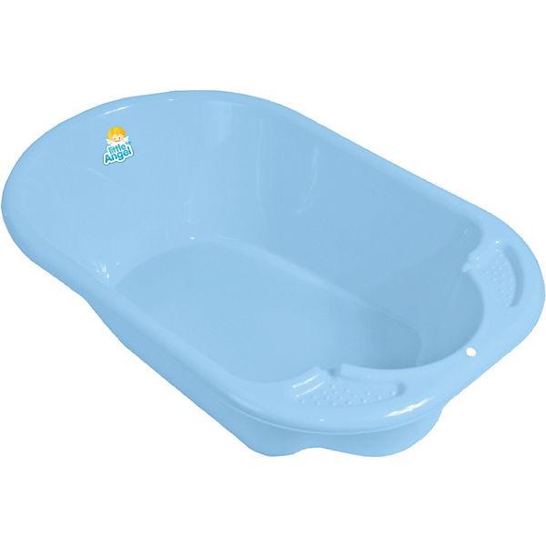 """Детская ванночка Little Angel """"Дельфин"""" (голубая)"""