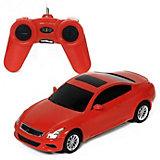 """Радиоуправляемая машина Rastar """"Infiniti G37 Coupe"""", 1:24 (красная)"""