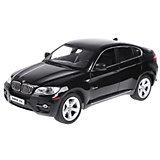 """Радиоуправляемая машина Rastar """"BMW X6"""", 1:14 (черная)"""