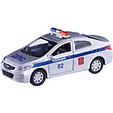 "Машинка Технопарк ""Hyundai Solaris Полиция"", 12 см"