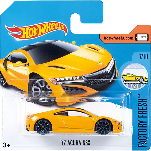 Базовая машинка Hot Wheels, 17 Akura NSX