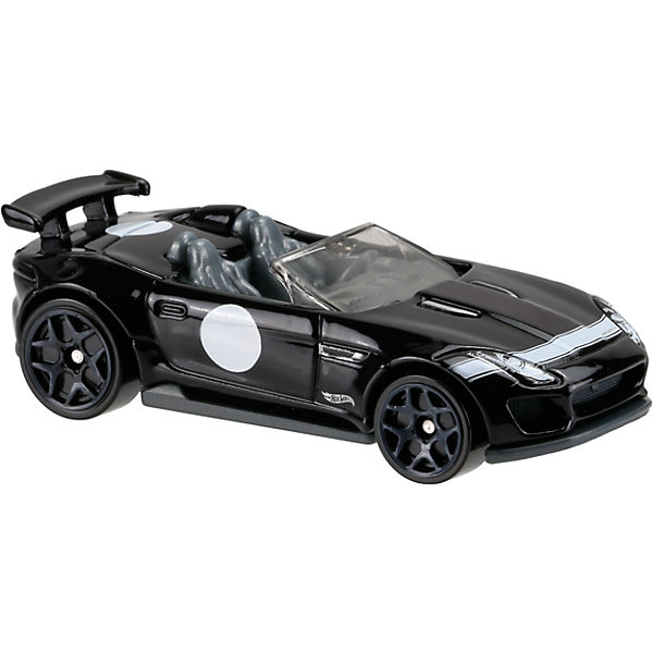 Базовая машинка Hot Wheels, 15 Jaguar F-Type Project 7