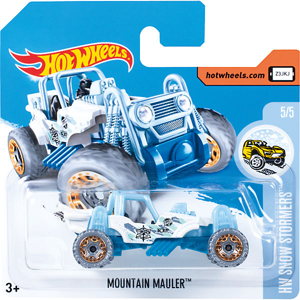 Базовая машинка Hot Wheels, Mountain Mauler