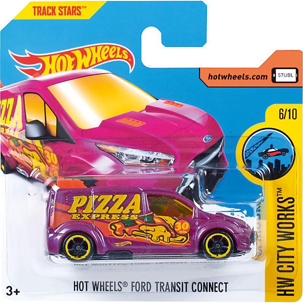 Базовая машинка Hot Wheels, Ford Transit Connect